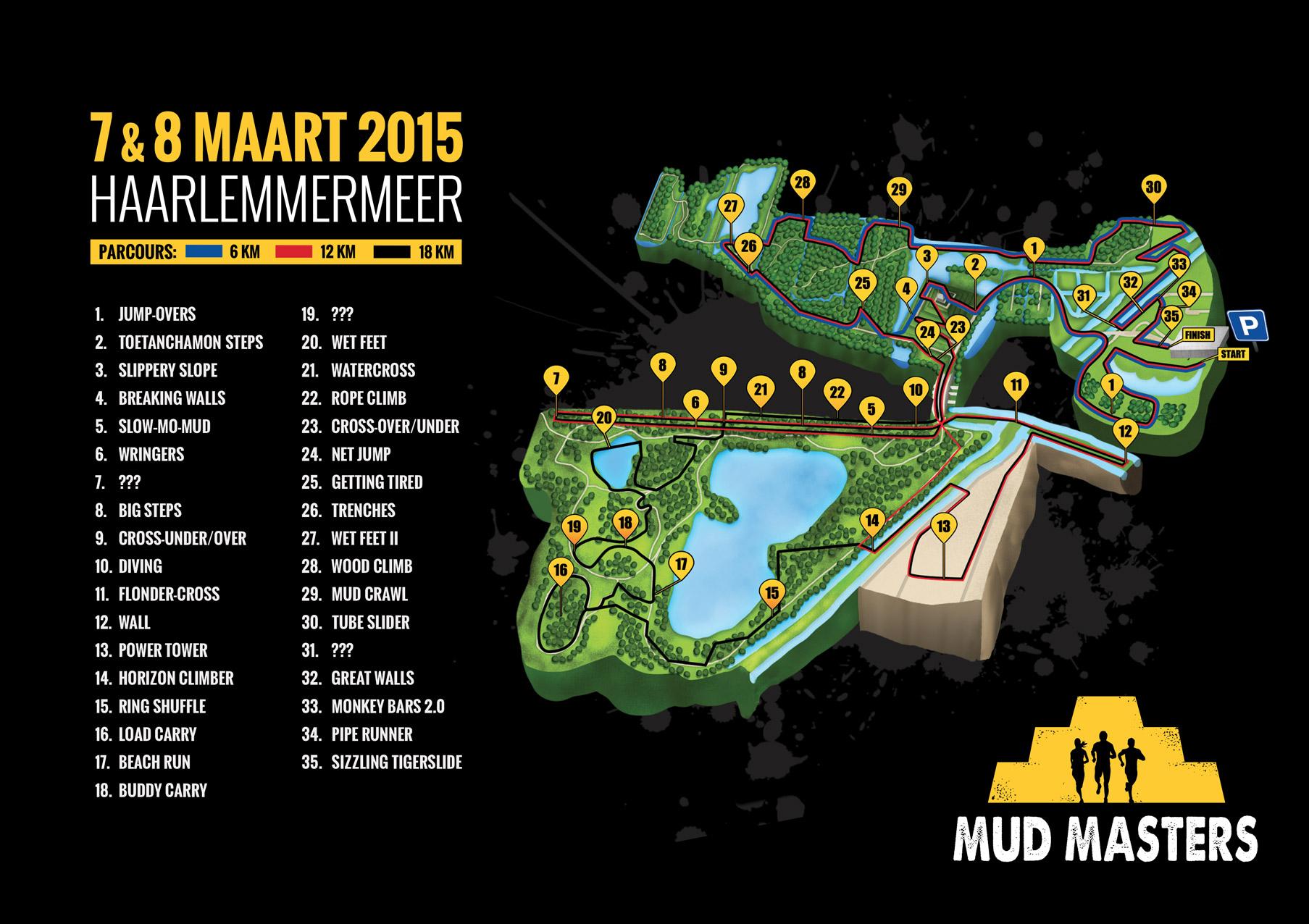 Haarlemmermeer 2015 Mud Masters Obstacle Run